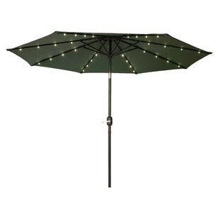 Gorman 9' Lighted Umbrella by Brayden Studio