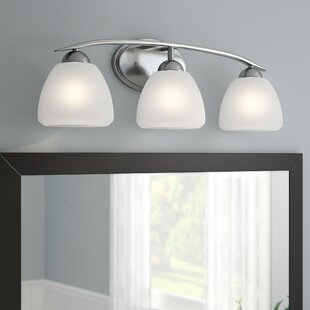 Affordable Price Cathey 3-Light Vanity Light By Alcott Hill