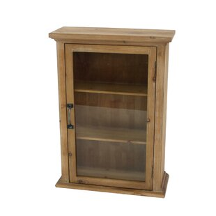 Chapin 21 W x 28 H x 8 D Solid Wood Wall Mounted Bathroom Cabinet by Loon Peak