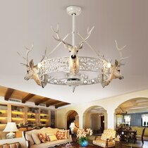 Deer Antler Ceiling Fan Wayfair