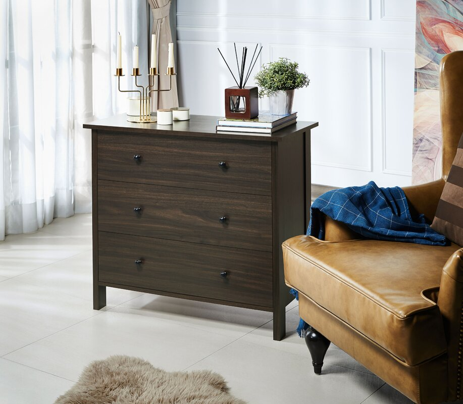 Calio 3 Drawer Accent Chest by Red Barrel Studio®