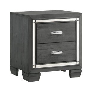 Anthea 2 Drawer Nightstand