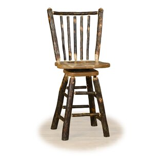 Weon Stick Back 24 Swivel Bar Stool
