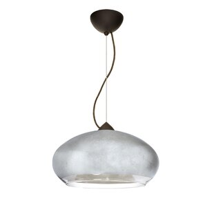 Brio 1-Light Globe Pendant by Besa Lighting