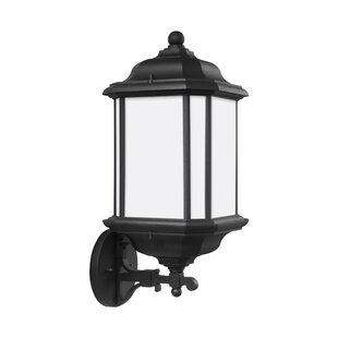 Inexpensive Burtt1-Light Outdoor Wall Lantern By Darby Home Co