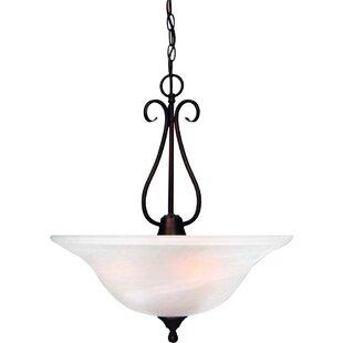 Volume Lighting Minster 3-Light Bowl Pendant