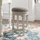Belle Meade Swivel 25 Counter Stool by Kelly Clarkson Home