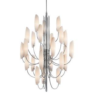 Orren Ellis Gilkey 24-Light Sputnik Chandelier