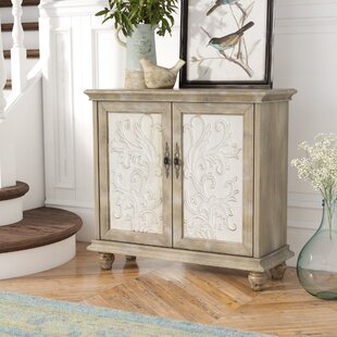 Biscay 2 Door Accent Cabinet by Lark Manor