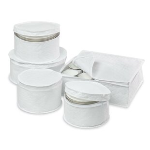 Superieur 5 Piece Dinnerware Storage Set