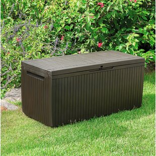 Keter Springwood 80 Gallon Resin Deck Box
