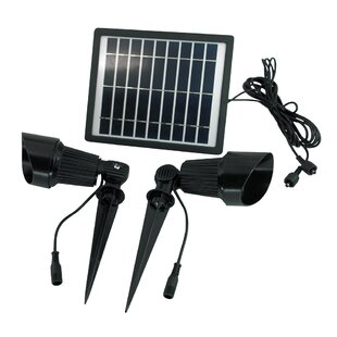 Great Price 4-Piece Spot Light Set By Solar Goes Green