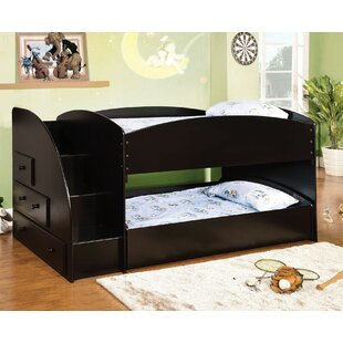 Affordable Craut Twin over Twin Bunk Bed with Drawer by Harriet Bee Reviews (2019) & Buyer's Guide