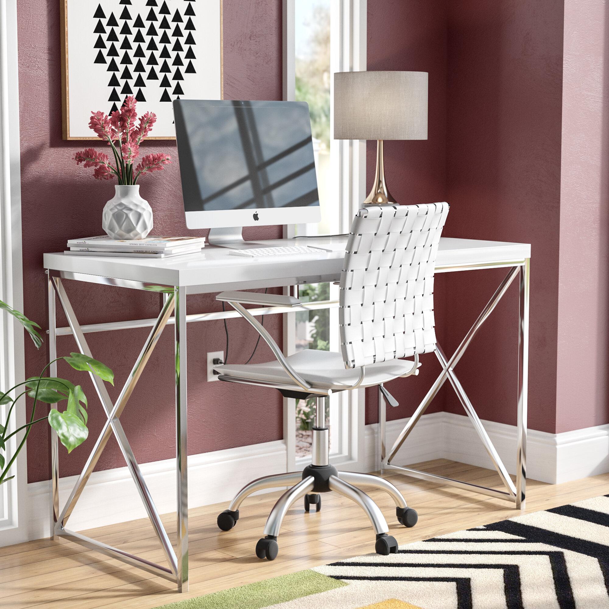 Beau Mercury Row Esser Writing Desk U0026 Reviews | Wayfair