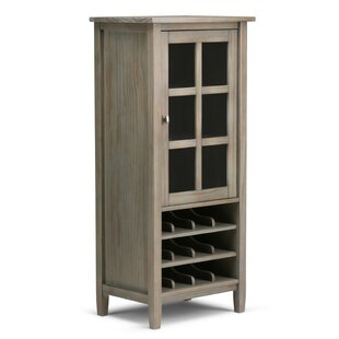 Alcott Hill Alameda 12 Bottle Floor Wine Cabinet