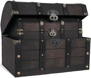 Breakwater Bay Yarborough 2 Piece Barrel Chests Trunk Set