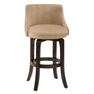 Kodiak Island 29.75 Swivel Bar Stool Red Barrel Studio