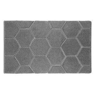 Pearl Honeycomb Bath Mat