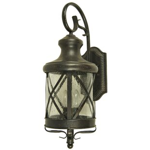 Moores 3-Light Outdoor Flush Mount by August Grove