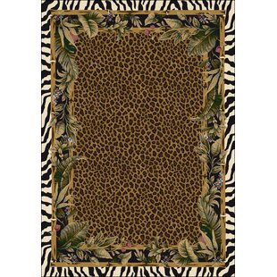 Judah Jungle Safari Skins Area Rug