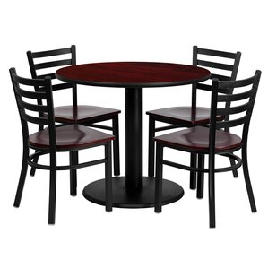 Sanket 5 Piece Dining Set by Red Barrel S..