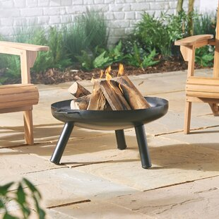 Labrosse Steel Wood Burning And Charcoal Fire Pit By Sol 72 Outdoor