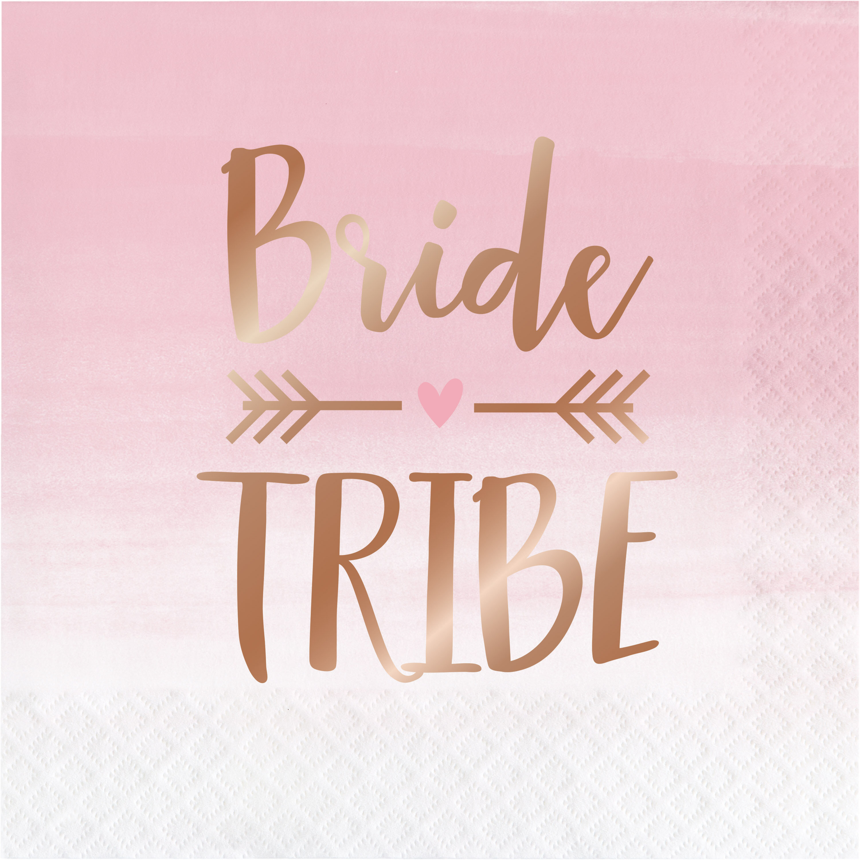 The Party Aisle Bride Tribe 6 5 Paper Disposable Napkins Wayfair