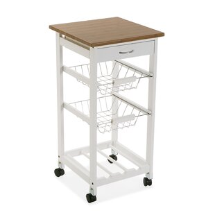 Elkin Kitchen Trolley With Manufactured Wood By Brambly Cottage