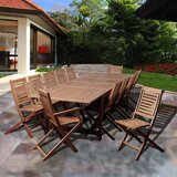 Tuthill International Home Outdoor 13 Piece Dining Set