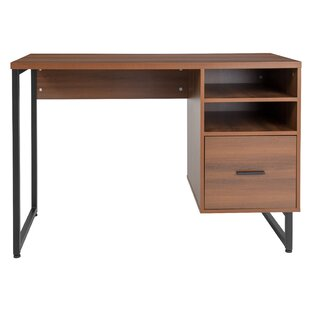 Emelina 1 Drawer Computer Desk by Union Rustic No Copoun