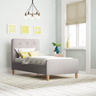 Albus Upholstered Bed Frame By Brambly Cottage