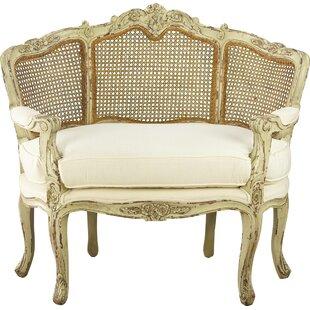 Shyann Half Back Armchair by One Allium Way