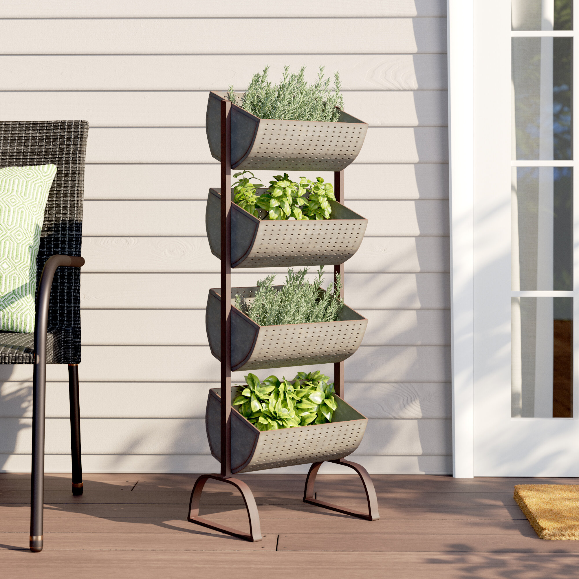 Elevated Tiered Gracie Oaks Planters You Ll Love In 2021 Wayfair