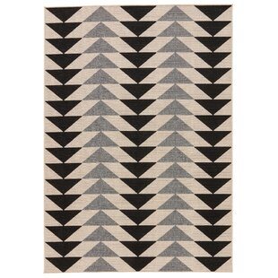 Searching for Anette Ivory/Black/Gray Indoor/Outdoor Area Rug By Mack & Milo