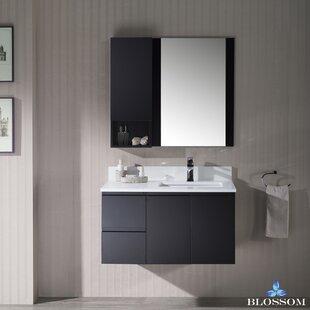Compare Maly 37 Single Bathroom Vanity with Mirror ByOrren Ellis