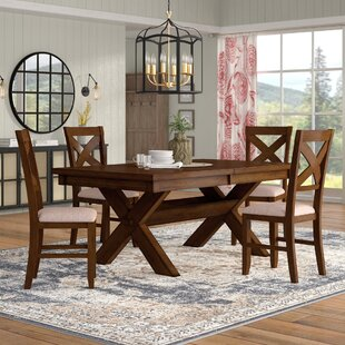 Laurel Foundry Modern Farmhouse Isabell 5 Piece Dining Set
