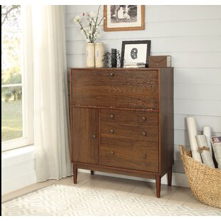Tabor Solid Wood Armoire Desk