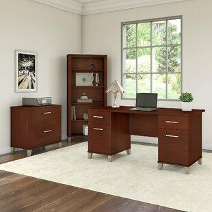 Kirchoff 3 Piece Desk Office Suite