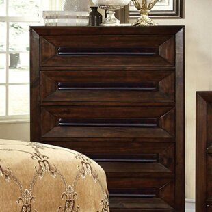 Fleur De Lis Living Ginter Wooden 5 Drawer C..