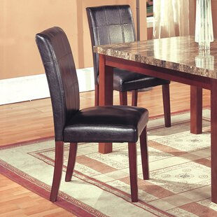 Aldama Upholstered Dining Chair (Set of 2) Loon Peak