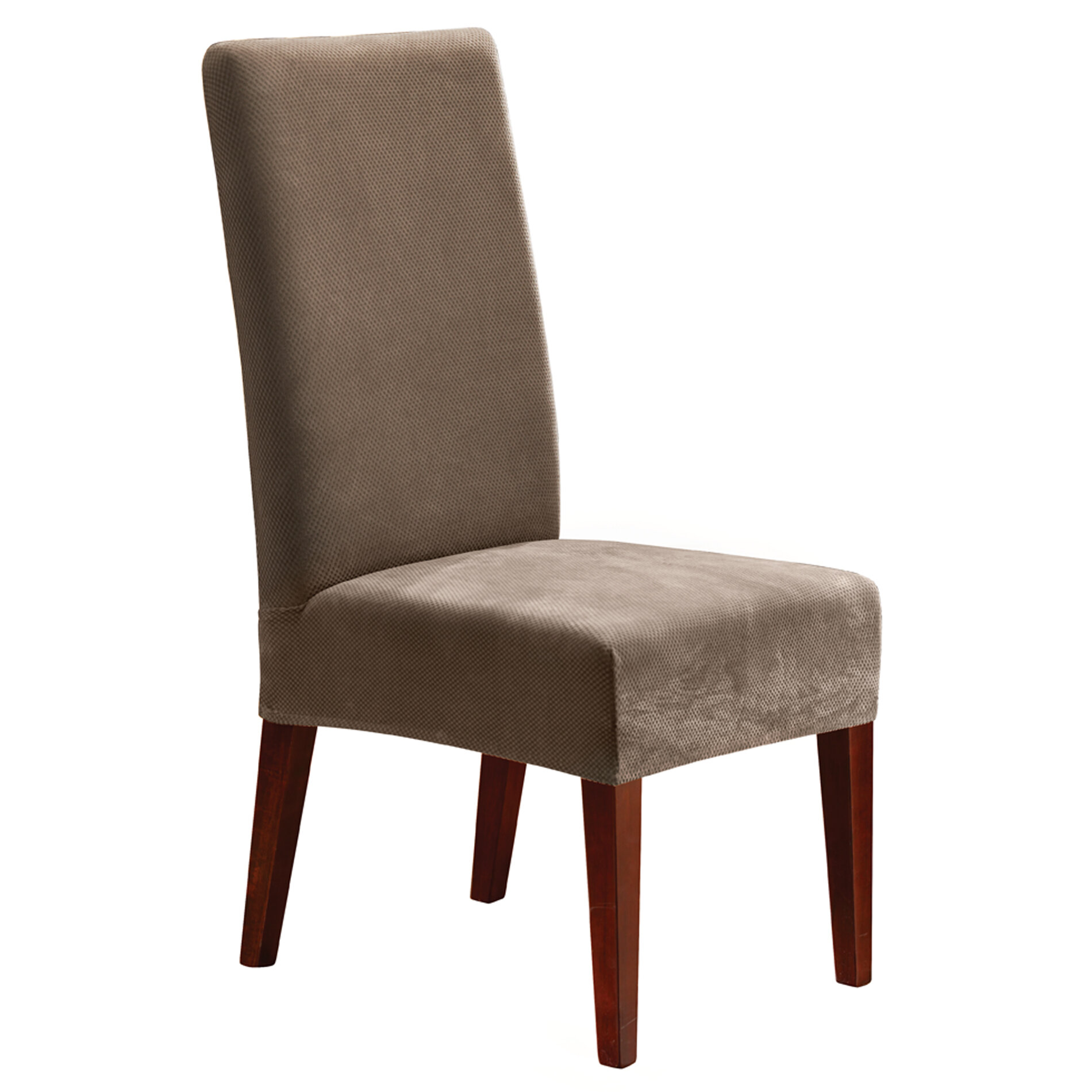 Sure Fit Stretch Pique Short Chair Slipcover U0026 Reviews | Wayfair