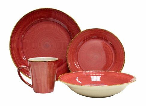 Sedona 16 Piece Dinnerware Set Service for 4  sc 1 st  Wayfair & Thomson Pottery Sedona 16 Piece Dinnerware Set Service for 4 ...