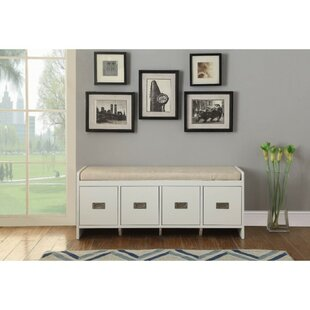 Darby Home Co Fordwich Upholstered Storage Bench