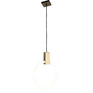 Wrought Studio Bazan 1-Light LED Geometric Pendant