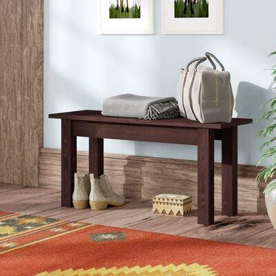 Enjoyable Negron Wood Bench Loon Peak Size 17 H X 42 W X 12 D Color Creativecarmelina Interior Chair Design Creativecarmelinacom