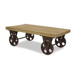 Williston Forge Harney Table with Wheels Coffee Table