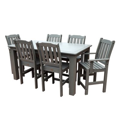 Phat Tommy 7 Piece Dining Set Buyers Choice Table Size: 30 H x 36 W x 72 L, Finish: White Wash