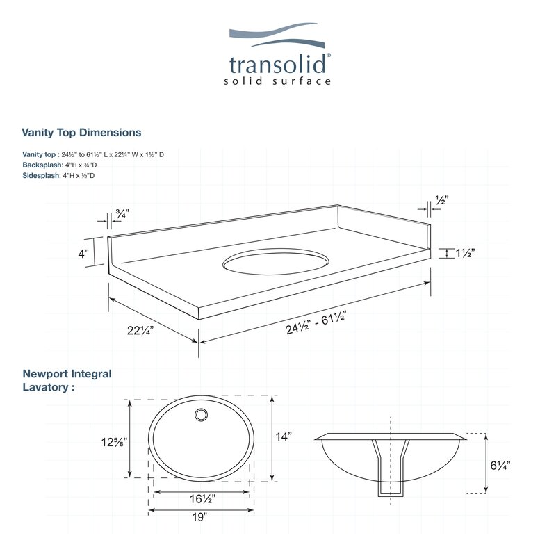 Transolid Newport 32 Solid Surface
