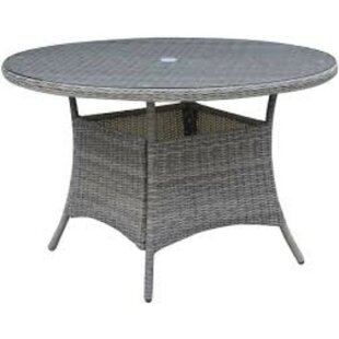 Capuano Wicker/Rattan Dining Table by Dar..