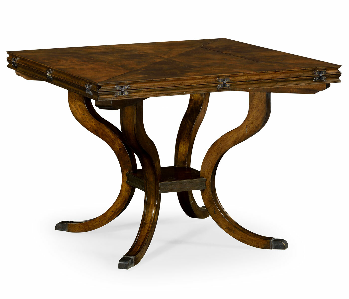 Jonathan Charles Fine Furniture Brompton Extendable Solid Wood Dining Table Perigold